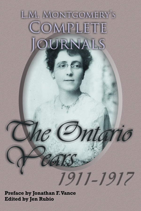 L.M. Montgomery Complete Journals, Ontario Years 1911-1927